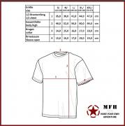 MFH - Dětské tričko Basic CZ tarn Typ 95, vel. L
