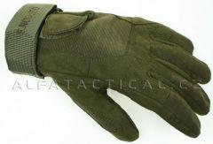 Rukavice Defcon 5 Special Forces, zelené vel.S