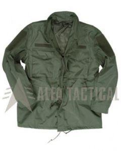Trilaminátová bunda M65, oliv vel.S