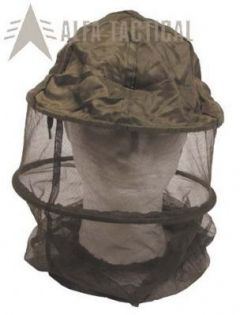 Moskytiéra MFH přes hlavu s kloboukem