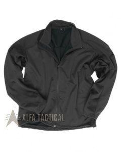 Lehká bunda SOFTSHELL černá