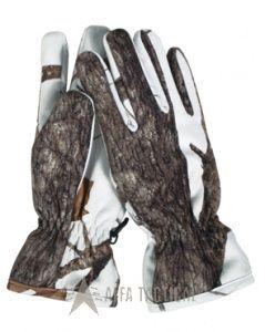 Lovecké zimní rukavice HUNTER, snow wild trees