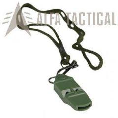 Signální píšťalka Mil-tec olivová