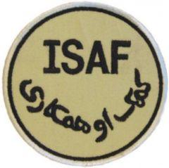 Nášivka ISAF - poušť  (G-09), suchý zip