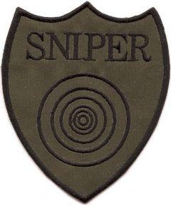 Nášivka Sniper (D-18)