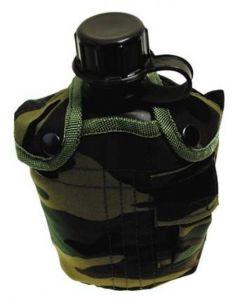 US Polní lahev s obalem,woodland