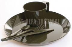 Campingový set nádobí