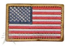 Nášivka Condor USA, tricolor