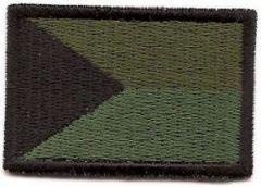 Nášivka ČR velká bojová A-6 - suchý zip