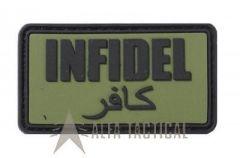 Nášivka INFIDEL, zelená
