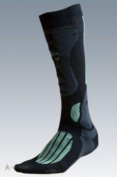 Ponožky Mission black/green