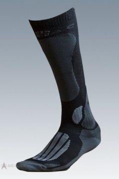 Ponožky Mission black/grey