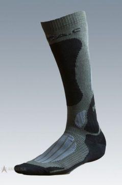 Ponožky Mission, green/grey