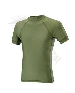 Funkční triko Defcon 5 Lycra, krátký rukáv, OD Green