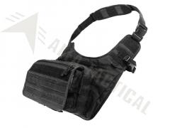 Taška na rameno Condor Messenger Bag, černá