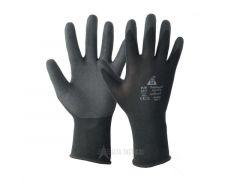Protiskluzové rukavice Safet Medex Polyflex, černé