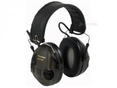 Elektronická sluchátka Peltor SportTac, Olivově zelená