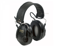 Elektronická sluchátka Peltor SportTac, Černá