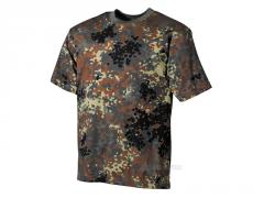 Bavlněné triko MFH, Flecktarn