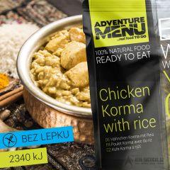 Kuře Korma s rýží, 400 g