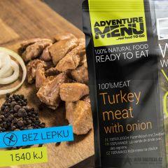 100% Krůtí maso na cibulce, 200 g - bez přílohy