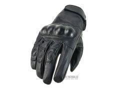 Rukavice Tactical Leather, černé