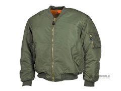 Letecká US bunda TEESAR® MA1, Olive