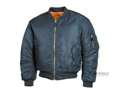 Letecká US bunda TEESAR® MA1, modrá