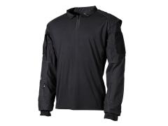 Combat shirt MFH US Tactical, černý