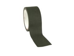 Textilní lepící páska 50mm x 10m, OD zelená