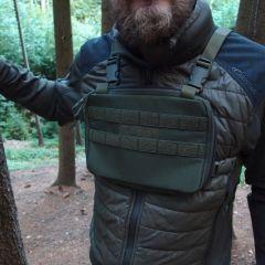 Hrudní brašna JUBÖ Front Bag mini, zelená
