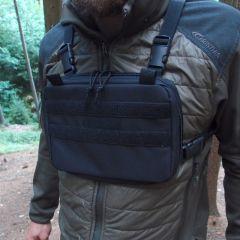 Hrudní brašna JUBÖ Front Bag mini,černá