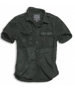 Košile Surplus 1/2 Raw Vintage Shirt, černá