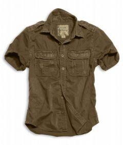 Košile Surplus 1/2 Raw Vintage Shirt, hnědá