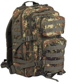 Batoh Mil-tec US Assault LG 36L, flecktarn
