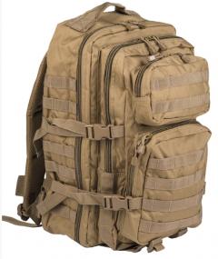 Batoh Mil-tec US Assault LG 36L, coyote