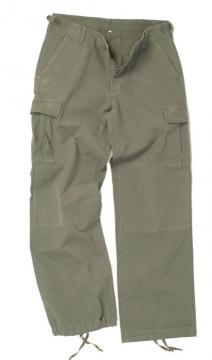 Dámské kalhoty Mil-tec US BDU, olivové