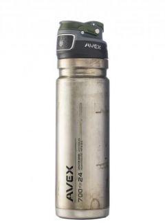 Contigo láhev AVEX Autoseal TS Freeflow 700ml, neopracovaný nerez