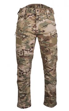 Softshellové kalhoty Mil-Tec® Assault, multicam
