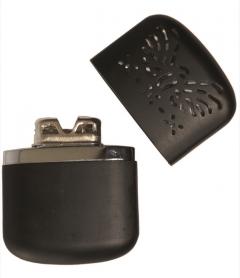 Kapesní benzínový ohřívač černý