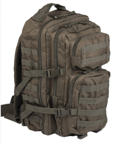 Batoh US Assault LG 36 l Mil-tec, olivový