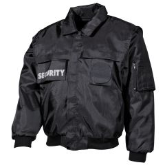 Služební bunda MHF Blouson SECURITY, černá