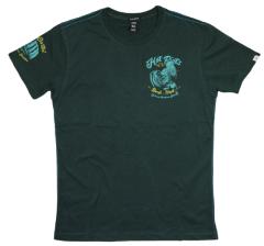 Pánské tričko Yakuza Premium Hot Riots 2602, darkgreen