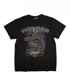 Triko Mars&Arms Wonder 9, černé