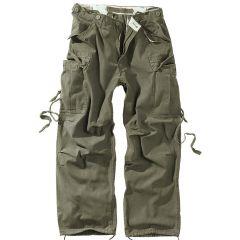Kalhoty Surplus Vintage Fatigues, oliv