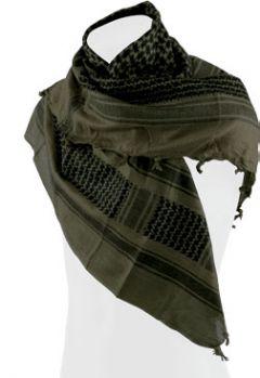 Šátek Shemagh Defcon 5, oliv-černá
