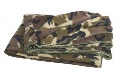 Fleecová deka Mil-Tec, woodland