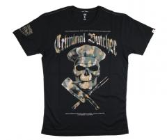 Pánské tričko Yakuza Premium Criminal Butcher 2700, černé