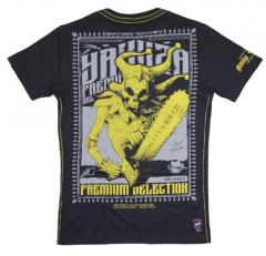 Pánské tričko Yakuza Premium SAW 2612, dark grey