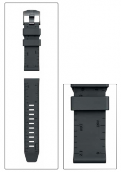 Pásek k hodinkám Luminox 8830 a 8840, černý